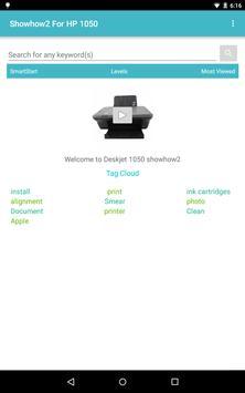 Showhow2 for HP DeskJet 1050 screenshot 8