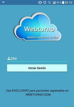 Webturno screenshot 1