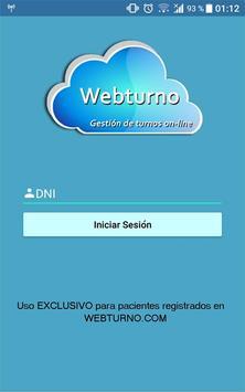Webturno screenshot 2