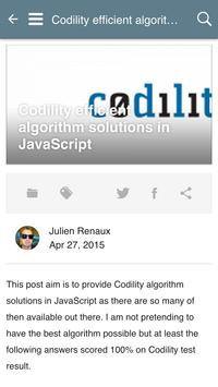 Julien Renaux Blog apk screenshot