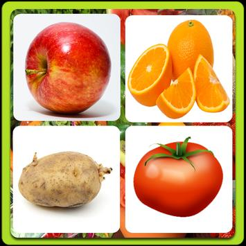 Fruits and Vegetables Quiz ! poster