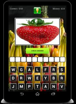 Fruits and Vegetables Quiz ! screenshot 11