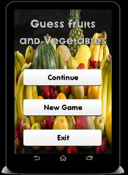 Fruits and Vegetables Quiz ! screenshot 2