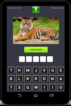 Animals Quiz screenshot 1