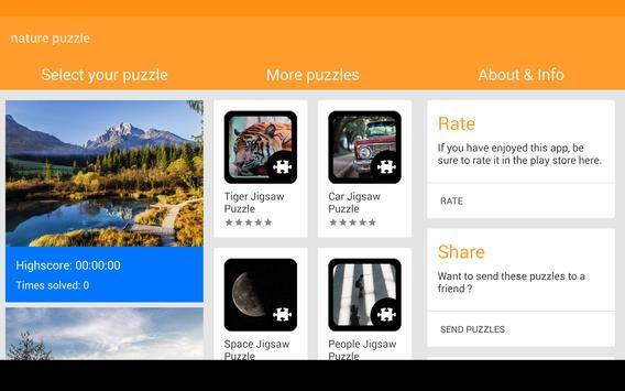 Nature Puzzle screenshot 11