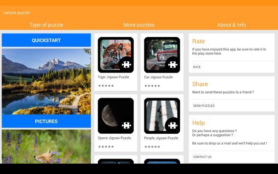 Nature Puzzle screenshot 4