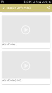 B'Bali 2 Movie Video apk screenshot