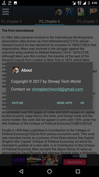 Biography of Carl Marx apk screenshot