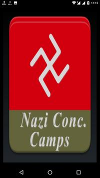 Nazi Concentration Camp History poster