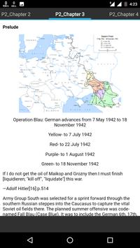 History of Battle of Stalingrad apk screenshot