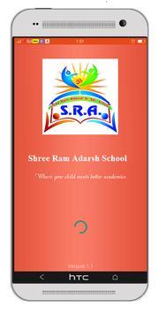 Shree Ram Adarsh School poster