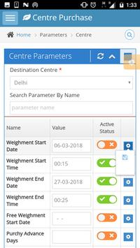 Centre Purchase Admin screenshot 2