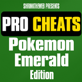 Pro Cheats Pokemon Emerald Edn icon