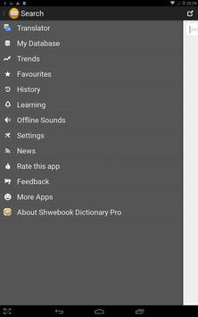 Shwebook Dictionary Pro screenshot 14