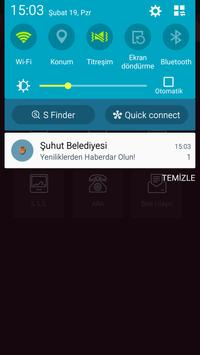 Şuhut Belediyesi Mobil apk screenshot