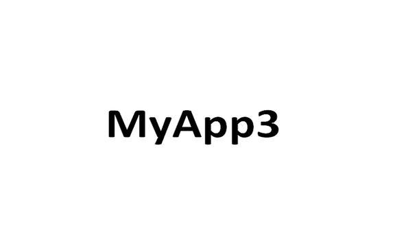 MyApp3 poster