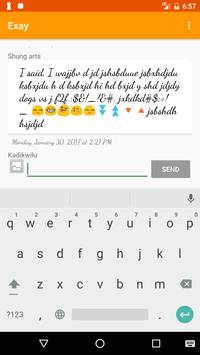 Exay: Free Social Network App Upload Pictures Post screenshot 2