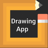 Drawing app - free hand drawing icon