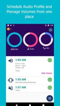 Profile Scheduler : Schedule and Volume Manager apk screenshot