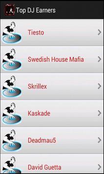 Top DJ Earners screenshot 2