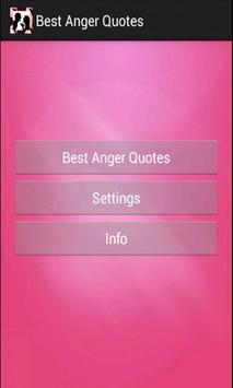 Best Anger Quotes screenshot 1