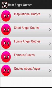 Best Anger Quotes screenshot 2