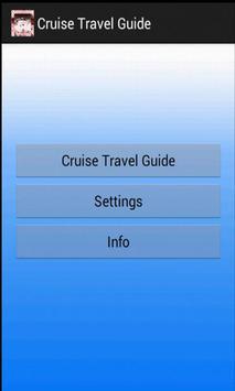 Cruise Travel Guide apk screenshot