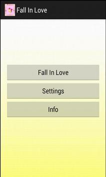 Fall In Love apk screenshot