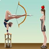 Girl Apple Shooter icon