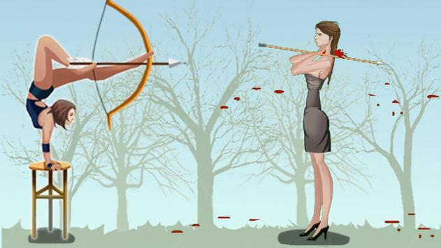 Girl Apple Shooter apk screenshot