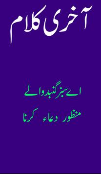 Beautiful Kalam of Amjad Sabri poster