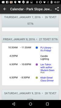 Park Slope Jewish Center apk screenshot