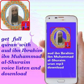 download Saoud al Shuraim full quran mp3 1 2 0 (Android