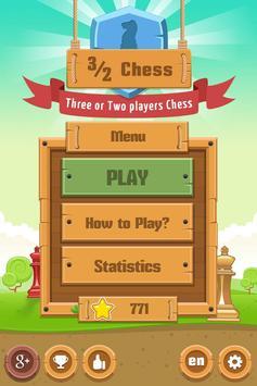 3/2 Chess: Three Players Chess screenshot 1