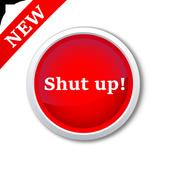 Shut Up - Sound Button icon