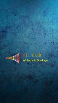 FILTER-All Social Site In One Page poster