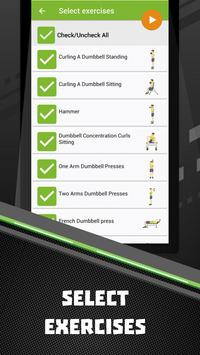 Dumbbells Home Workout Apk Screenshot