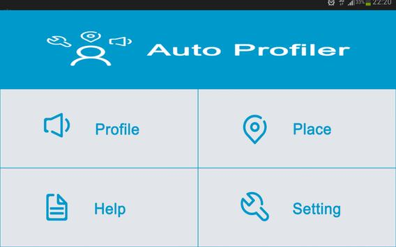 Auto Profiler apk screenshot
