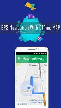 GPS Route Finder- Maps & Navigation With Live View apk screenshot