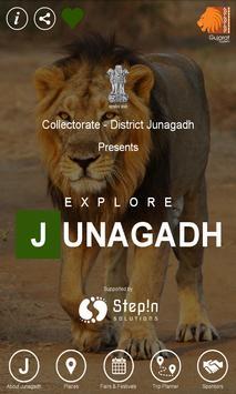 Explore Junagadh poster