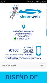 Sicomweb screenshot 5