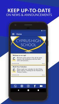 Cyprus High School poster