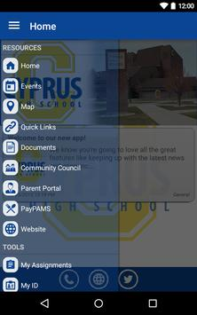 Cyprus High School apk screenshot