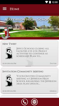 Jefferson High School poster