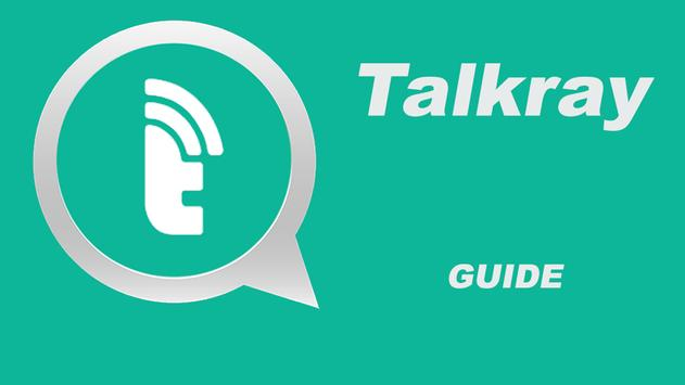 Guide for Talkray poster