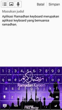Ramadhan Keyboard screenshot 2