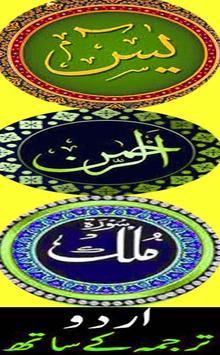 3 Sorah YASSEEN REHMAN MULK poster