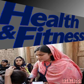 Health is wealth icon