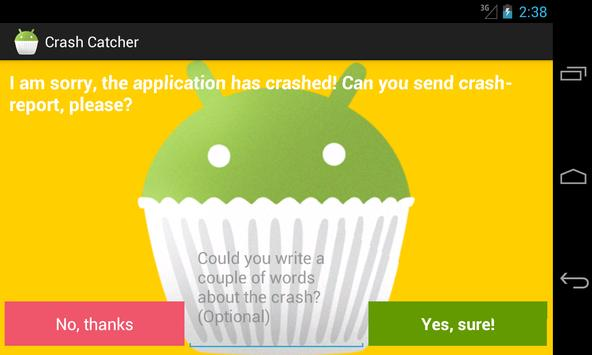Crash Catcher Demo screenshot 2