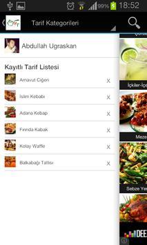 Yemek Tarifleri screenshot 3